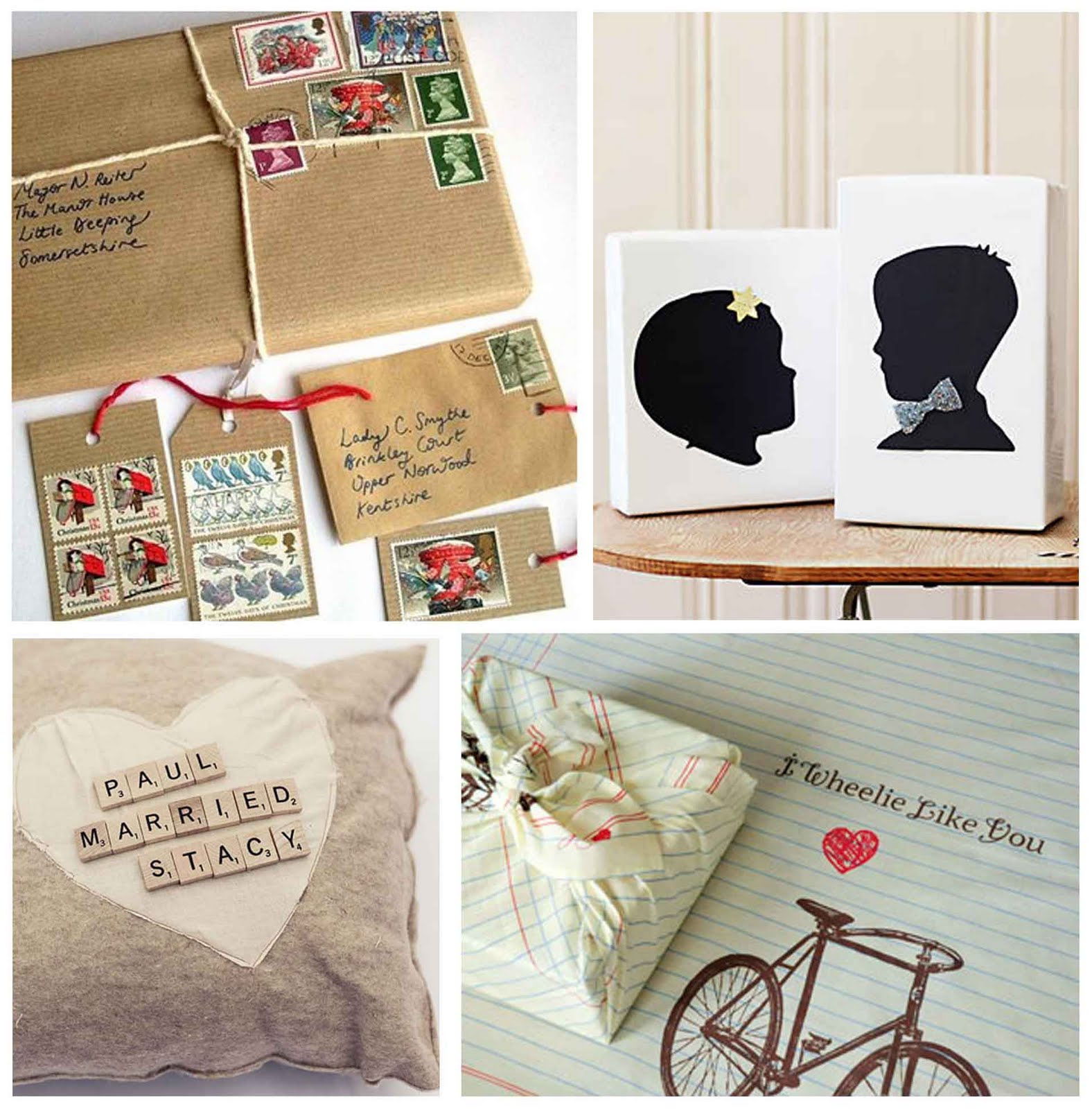 Ideas For Wedding Gift: Simply Fun Stuff: Creative Wedding Gift Wrap Ideas
