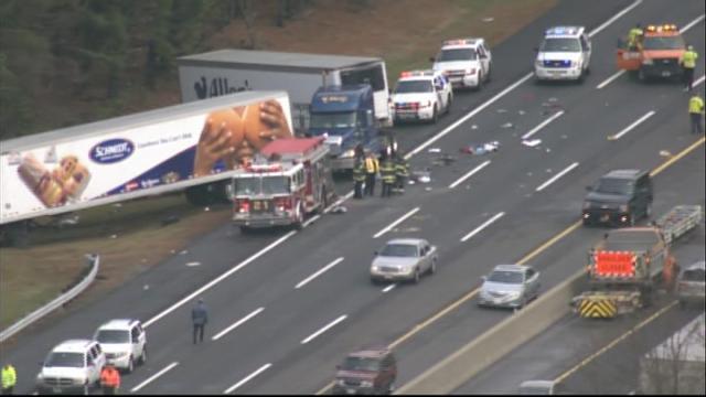Hansen Sons: 3 killed in NJ Turnpike crash in Burlington County
