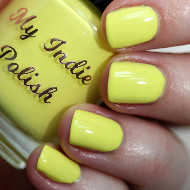 My Indie Polish Lemon swatch