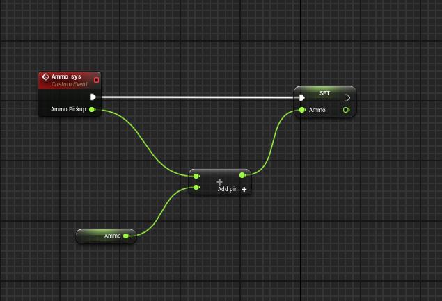 Ammo_Sys 2DSide Scroller Blueprint