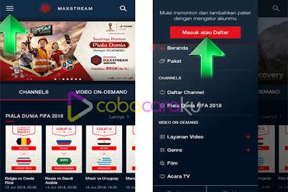 Nonton Streaming Piala Dunia Di Handphone Melalui Maxstream