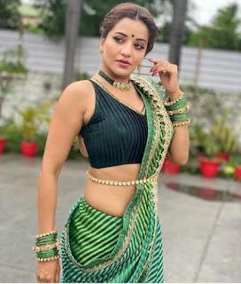 monalisa bhojpuri actress husband photo