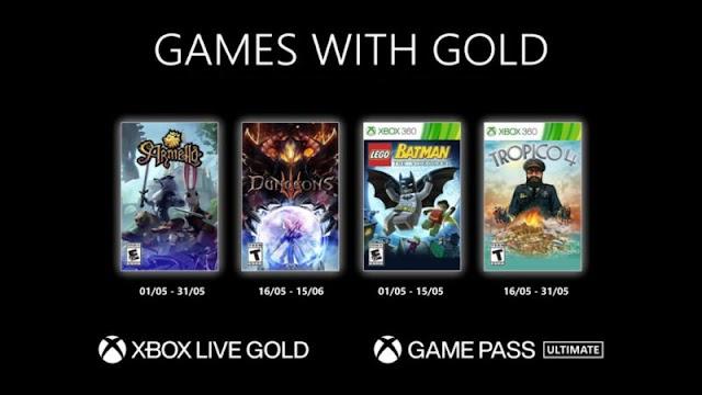 Games With Gold | Esses são os jogos de Maio/2021