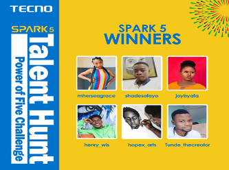 TECNO Wraps Up Spark 5 Talent Hunt, Giving Away 1 Million Naira #Arewapublisize