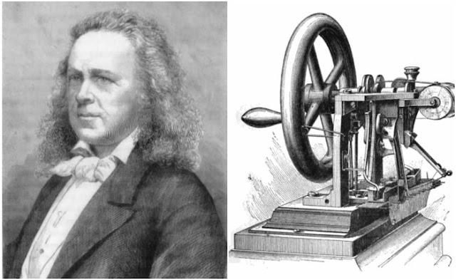 Elias Howe e sua invenção