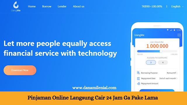 Pinjaman Online Langsung Cair 24 Jam Ga Pake Lama