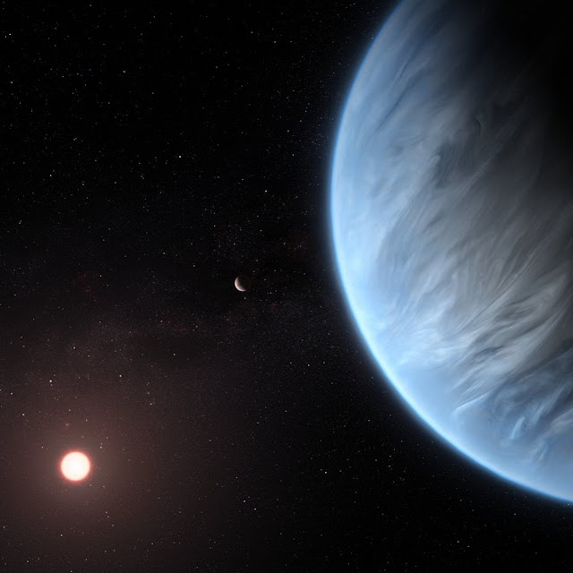 Water on exoplanet cloud tops could be found with hi-tech instrumentation