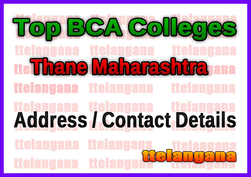 Top BCA Colleges in Thane Maharashtra