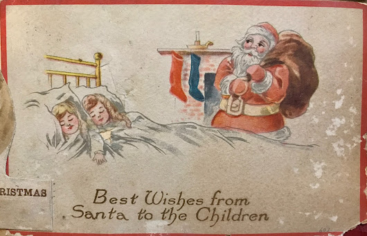 Christmas Cards to the Howe Family, circa 1900 - 1935 (Part 2)