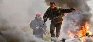Belarus: Berjalan diatas kobaran api