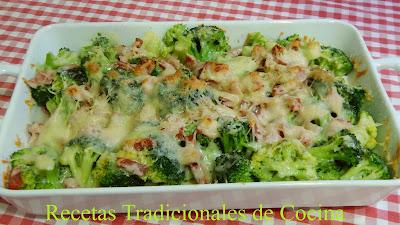 Gratén de brócoli, una receta fácil, rápida, deliciosa y económica