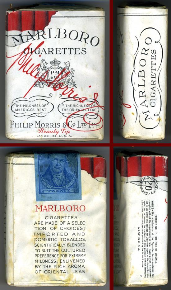 Marlboro pack 1940