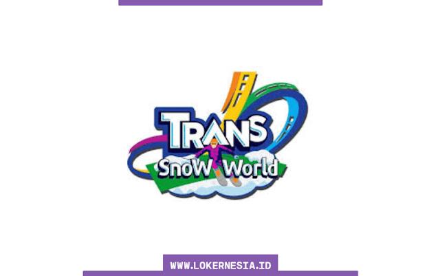 Lowongan Kerja Trans Snow World Bintaro Oktober 2021