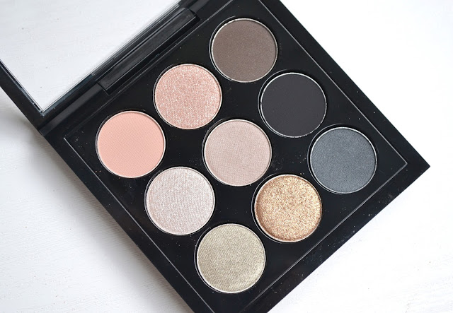 MAC Smoky Metallic Times Nine Review with Swatches