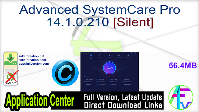 Advanced SystemCare Pro 14.1.0.210 [Silent]