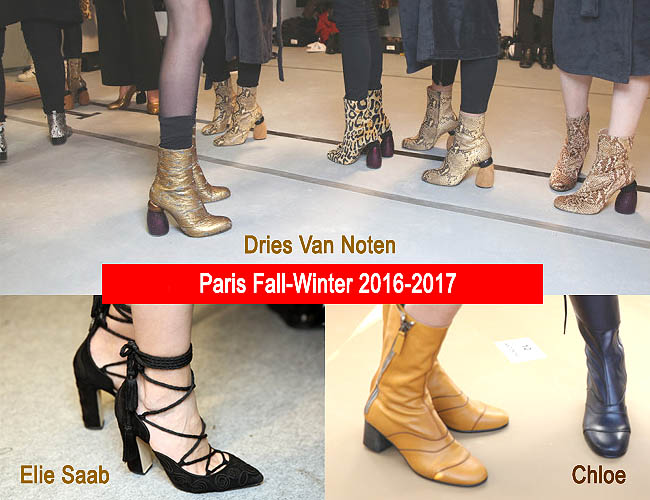 Model sepatu wanita terbaru 2016-2017 Dries Van Noten