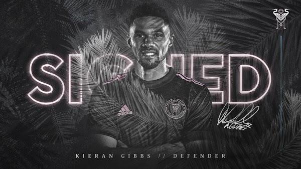 Oficial: Inter Miami, firma Gibbs hasta 2023
