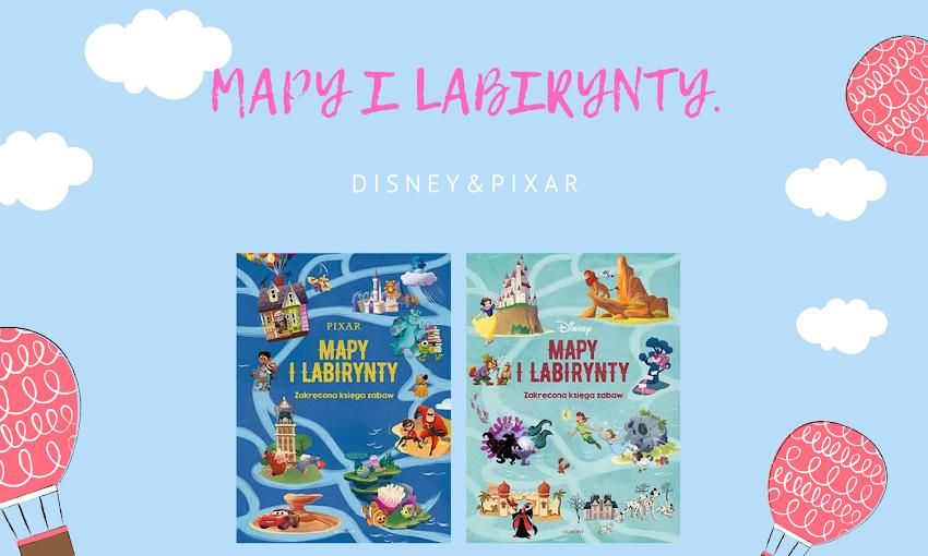 Palcem przez  labirynt | Disney. Mapy i Labiryntu oraz Pixar. Mapy i Labirynty