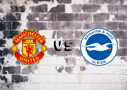 Manchester United vs Brighton & Hove Albion  Resumen y Partido Completo