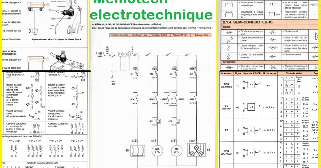 MEMOTECH ELECTROTECHNIQUE GRATUIT TÉLÉCHARGER LIVRE