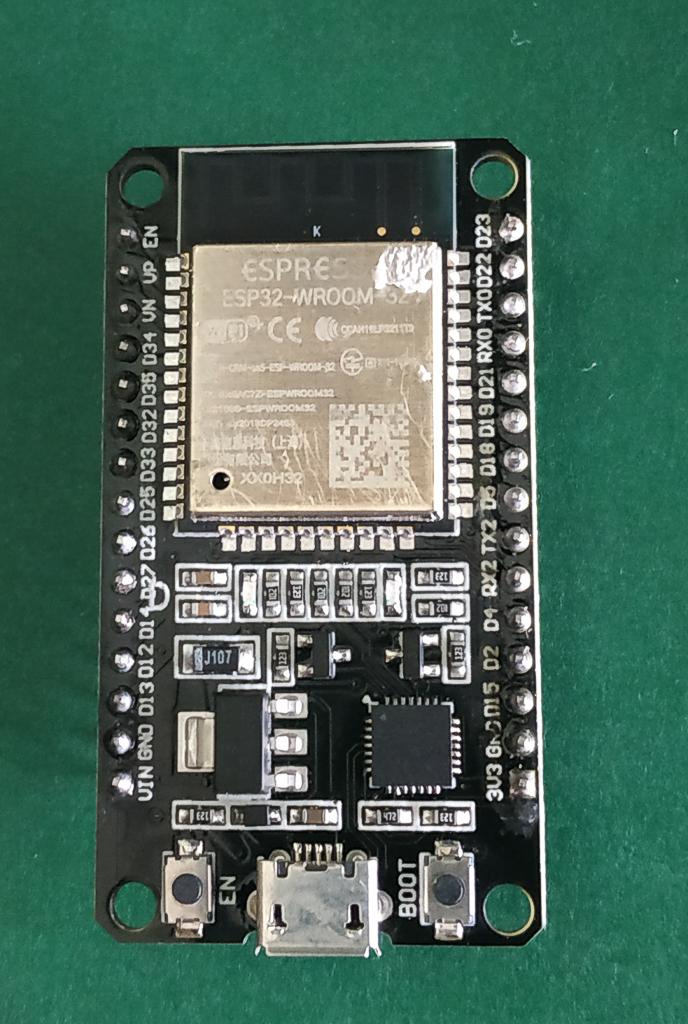 Microprocesador ESP32