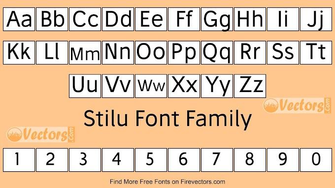 Stilu Font Family