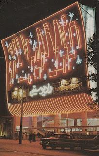 Radio City Cinema in Teheran postcard