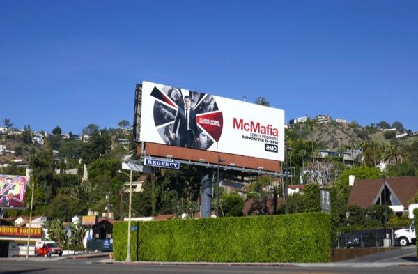McMafia TV series billboard