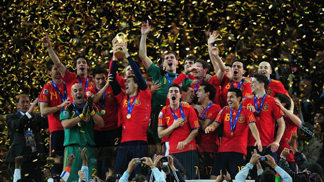 2010 Football World Cup Winner