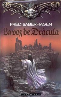 Carátula del libro La Voz de Drácula de Fred Saberhagen