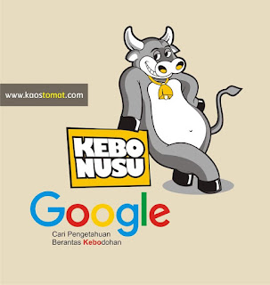 kaos plesetan google