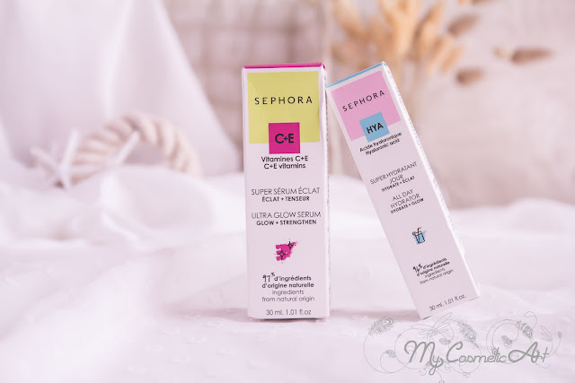 Sephora Collection: sérum iluminador y crema facial hidratante