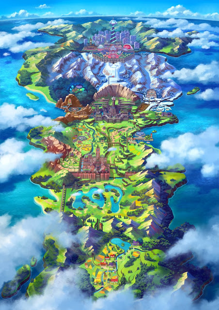 O novo jogo vai se passar em uma região aparentemente inspirada no Reino Unido e será chamada de Galar, onde todos os jogadores poderão explorar e se divertir.