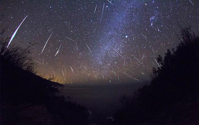 Chuva de meteoros Geminidas 2012 - Kenneth Brandon - Bir Sur - California