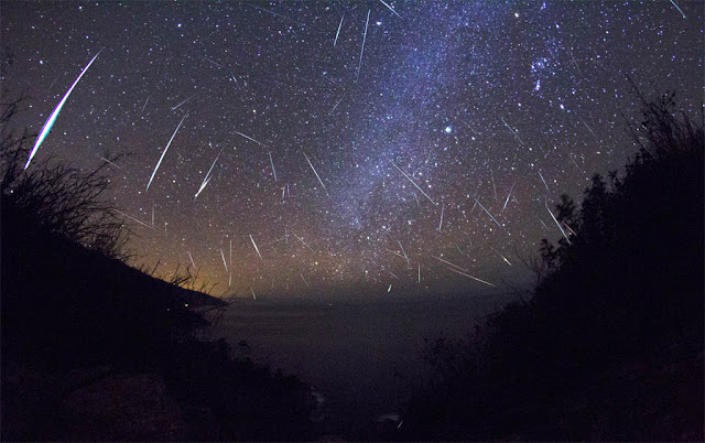 Chuva de meteoros Geminidas 2012 - Kenneth Brandon - Big Sur - California