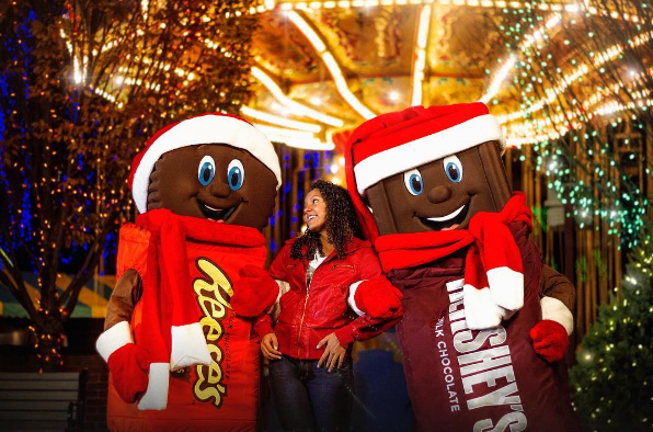 holiday fun at the amusement parks - Fun Things To Do On Christmas Eve
