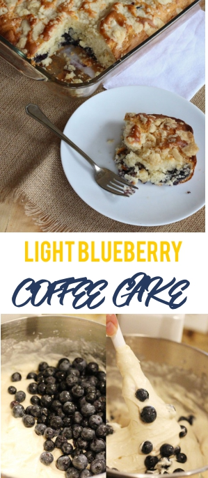LIGHT BLUEBERRY COFFEE CAKE RECIPE