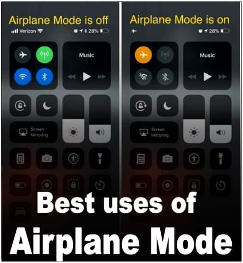Important functions and uses of airplane mode in mobile