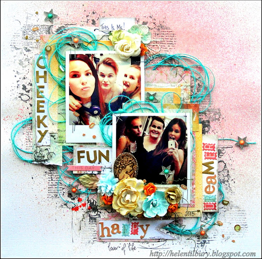 Guest Designer for More Than Words! Challenge Blog - Lover of Life Layout