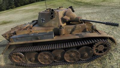 Luchs Tank (Alman Premium Mavi Hafif Tank ve 4. Seviye)