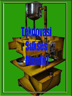 mesin pemisah lemak kakao