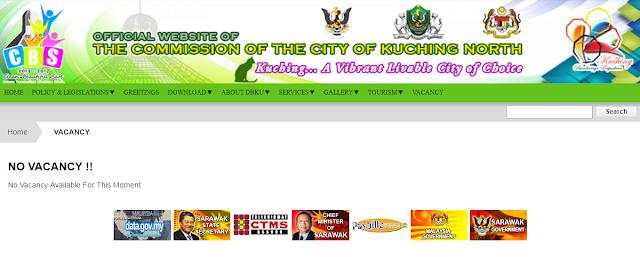 Rasmi - Jawatan Kosong (DBKU) Dewan Bandaraya Kuching Utara 2019