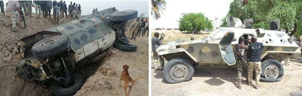 TROOPS OF OPERATION LAFIYA DOLE NEUTRALIZE BOKO HARAM/ISWAP TERRORISTS, CAPTURE ARMOURED PERSONNEL CARRIER AND RESCUE 241 KIDNAPPED VICTIMS