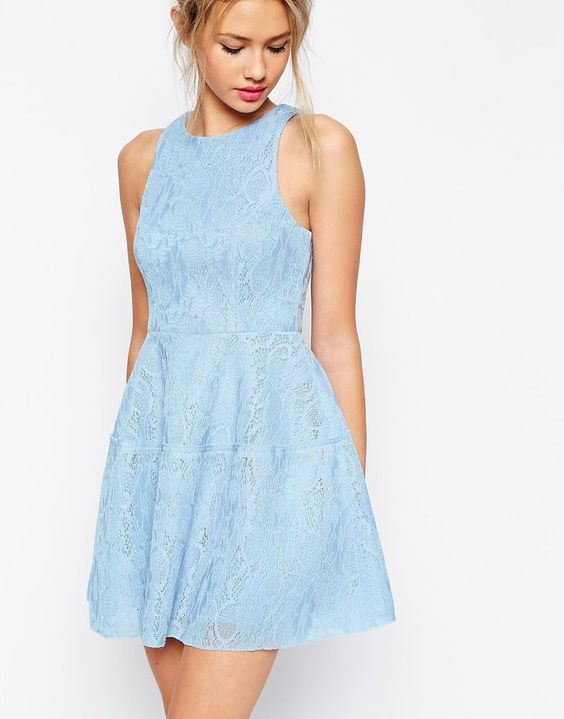 Fantastic Ways to Wear Lace #Dresses This #Summer