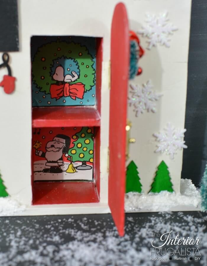 Christmas Countdown Santa Cottage Special Door