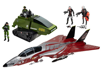 "San Diego Comic-Con 2015 Exclusive G.I. Joe ""Crimson Strike"" Box Set"