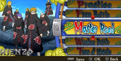 Game naruto shippuden ppsspp iso for android