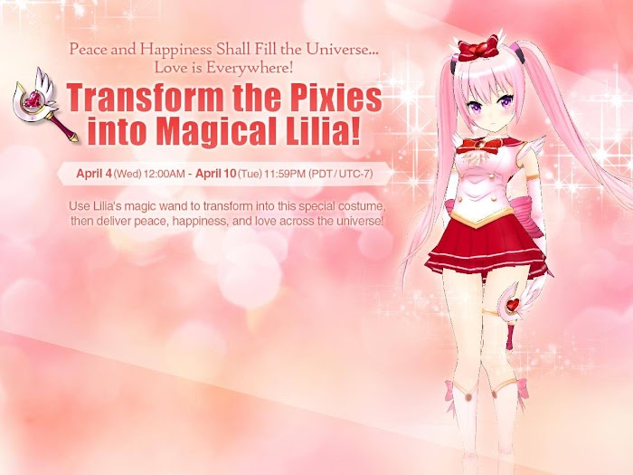 Master of Eternity (MOE) - Magical Lilia Special Costume Preview