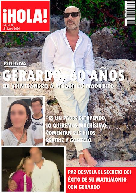 Revista personalizada Hola cumpleaños