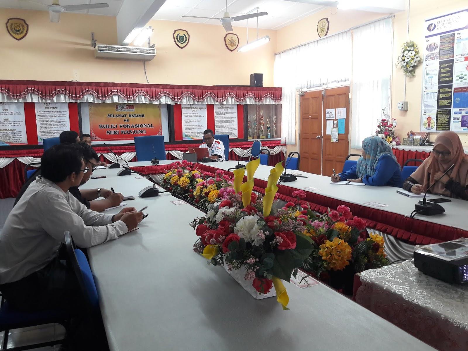 Kolej Vokasional Seri Iskandar : LAWATAN PENANDA ARAS